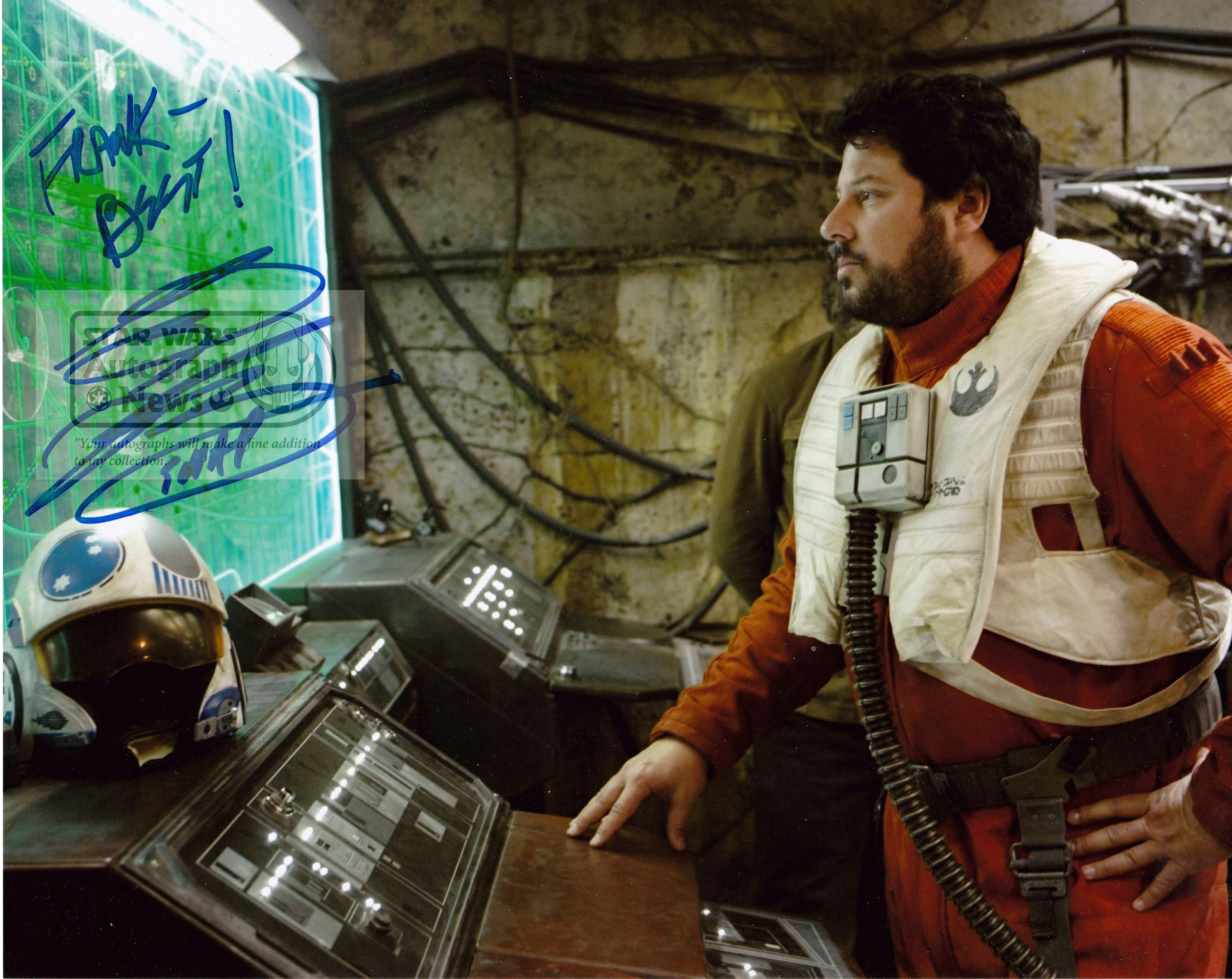 GREG GRUNBERG - Star Wars Autograph News